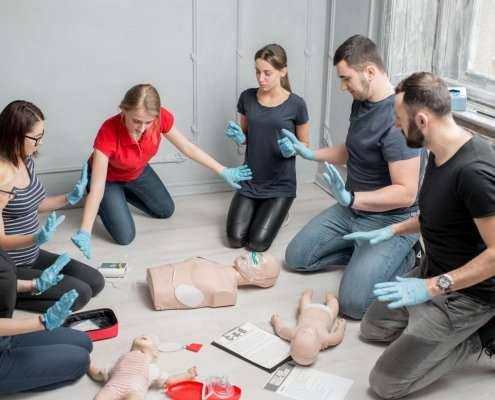 first aid at work and paediatric first aid