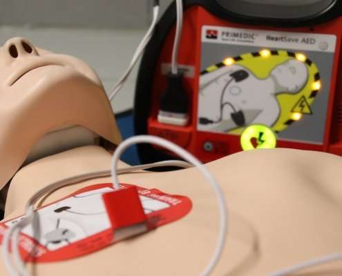 responding to incidents with an aed
